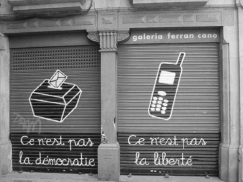 Ce n'est pas la démocratie, ce n'est pas la liberté