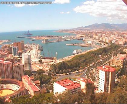 Málaga desde Gibralfaro