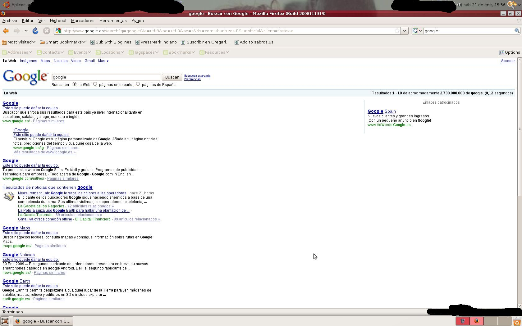 Google se pasa de precabido, ¿no?
