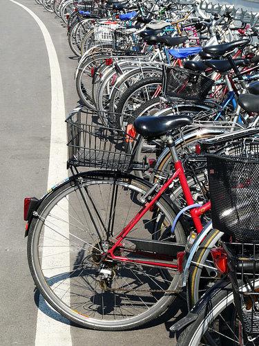 Bicicletas en Zürich