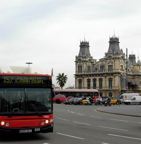 Bus en Barcelona