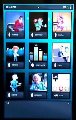 captura de pantalla, Intel