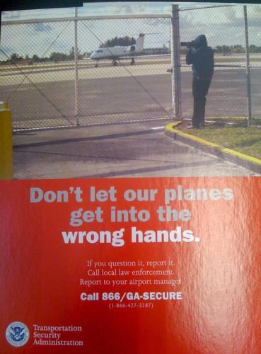 Poster de la TSA