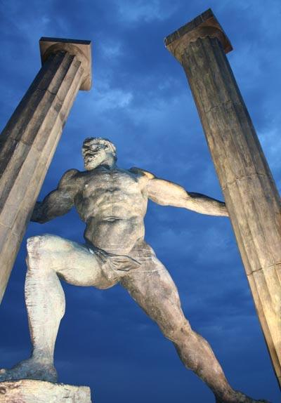 Hércules, Ginés Serrán