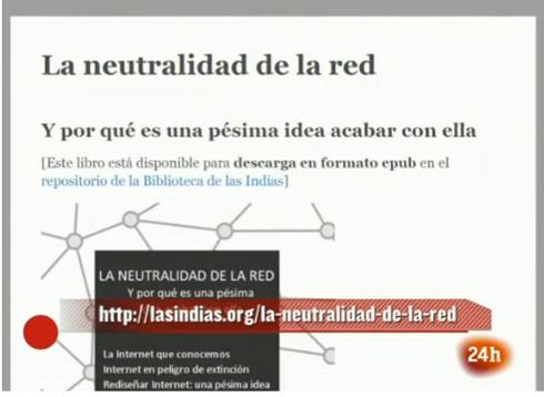 La neutralidad de la Red, en La 2