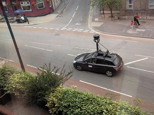 Coche de Google Street View en Bristol