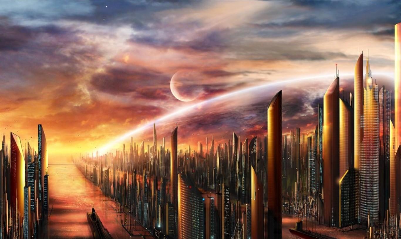 Una ciudad del futuro, nadie sabe si serán así