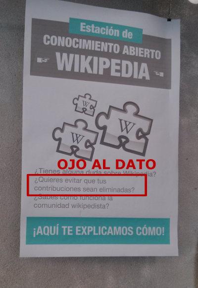 Contribuciones eliminadas Wikipedia