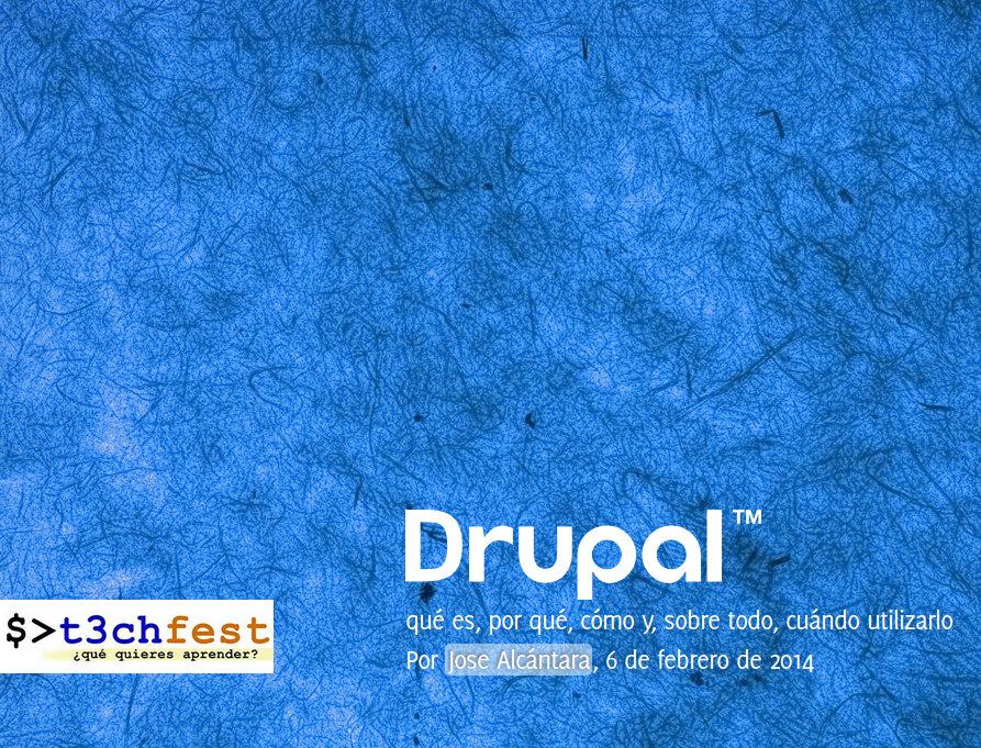 Conferencia sobre Drupal