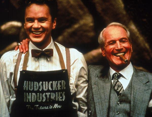 Paul Newman y Tim Robbins en El gran salto de Joel Cohen