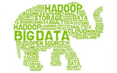 Hadoop, nube de etiquetas