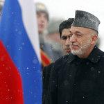 Karzai en Moscú