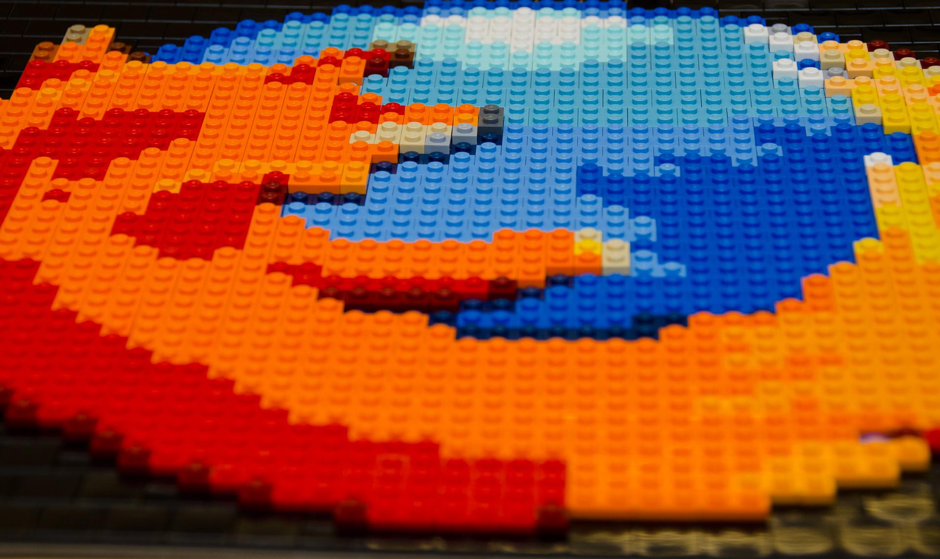 Lego Firefox