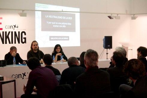 Presentación de La neutralidad de la Red, Madrid