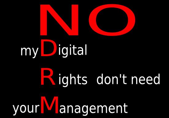 No al DRM