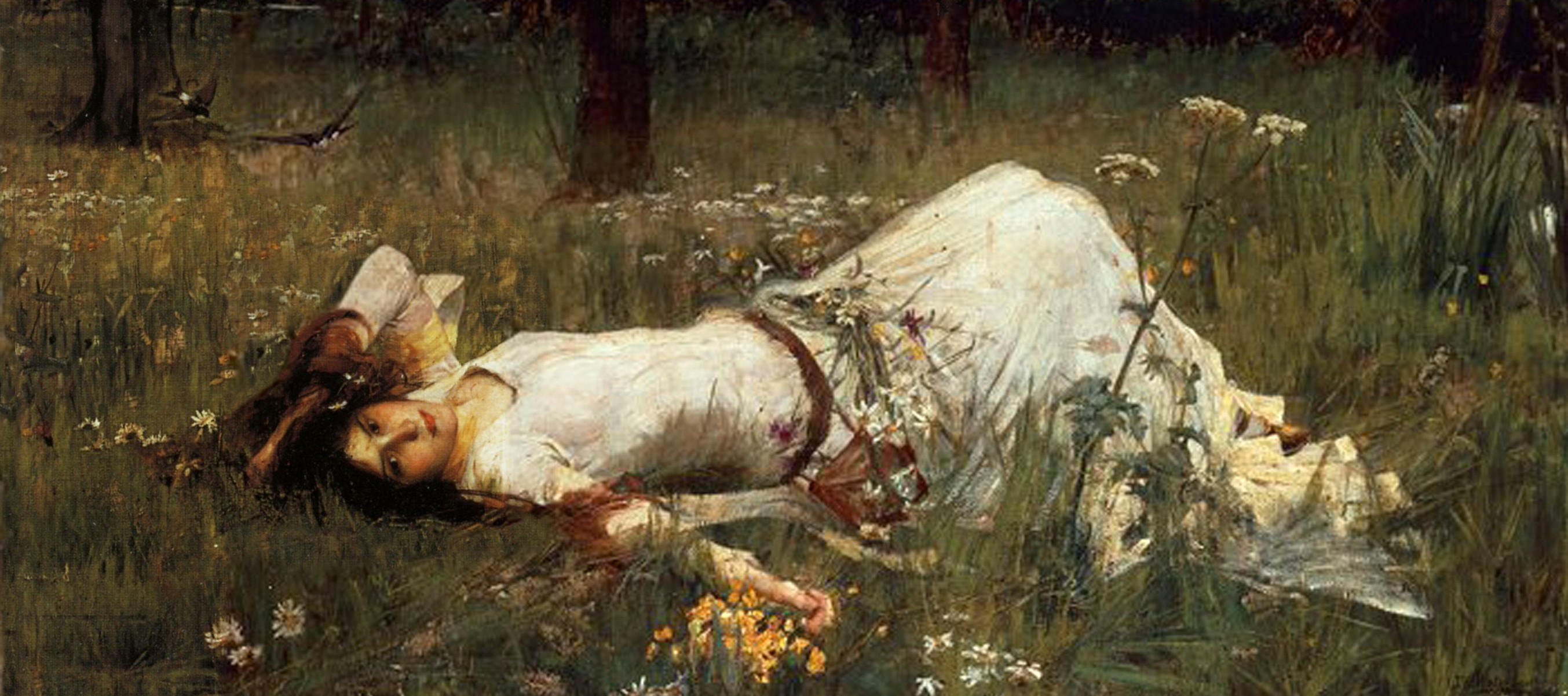 Ophelia, por John William Waterhouse