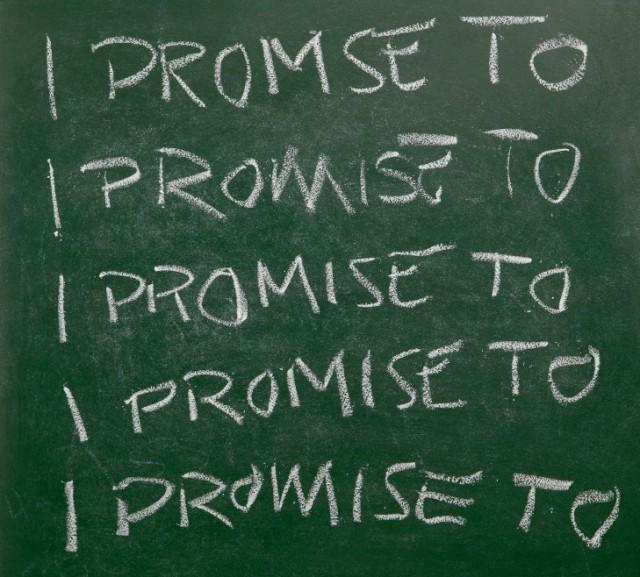 Prometo...