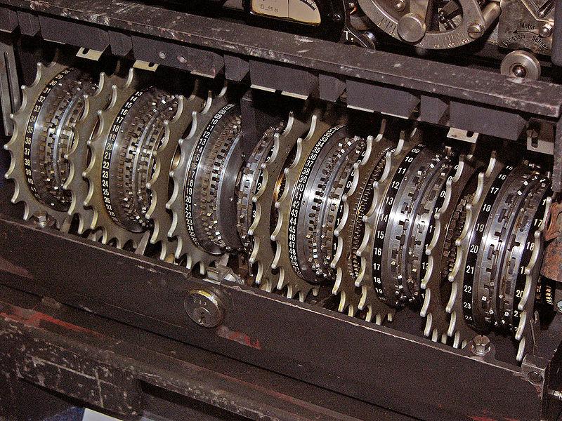 Rotores de máquina enigma