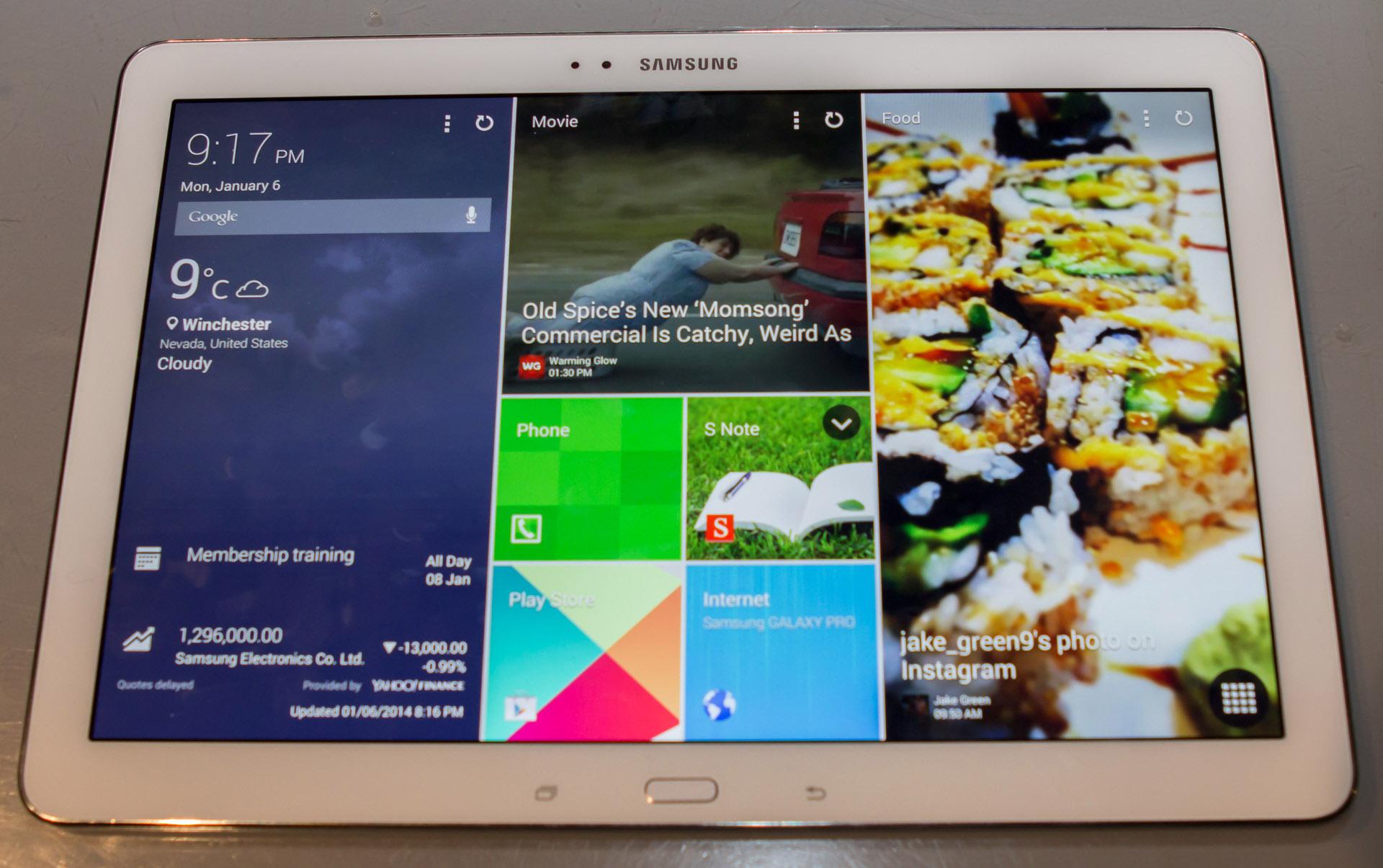 Samsung Magazine UI