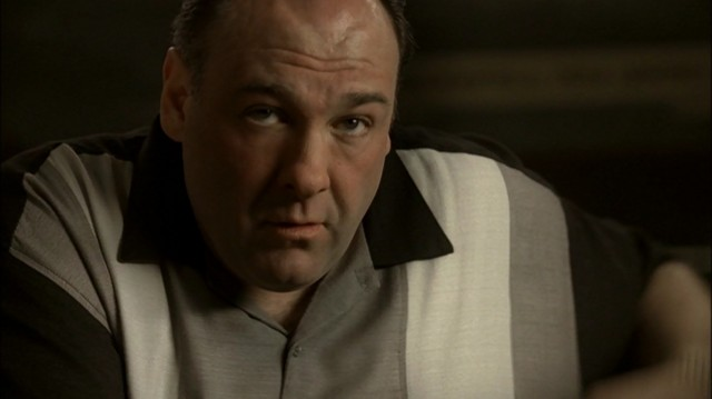 Tony Soprano, interpretado por James Gandolfini