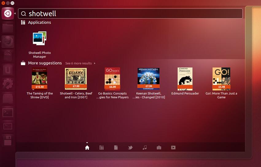 Ubuntu integra el catálogoo de Amazon
