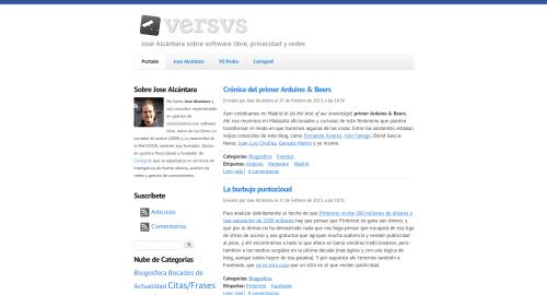 Nuevo aspecto de Versvs